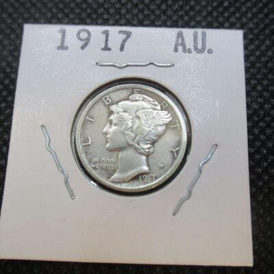 Lot 34 - 1917 Mercury Dime