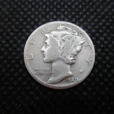 Lot 39 - 1940 D Mercury Dime