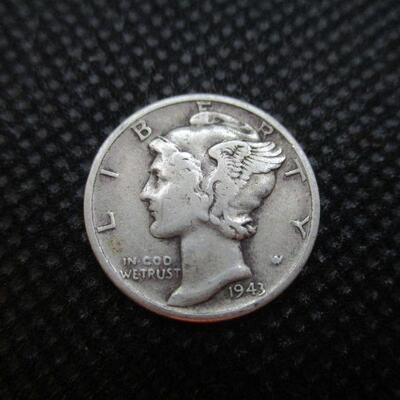 Lot 41 - 1943 Mercury Dime