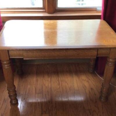360 - Tiger Oak Writing Table