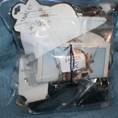 Quart Size Ziplock Bag of Jewelry -1