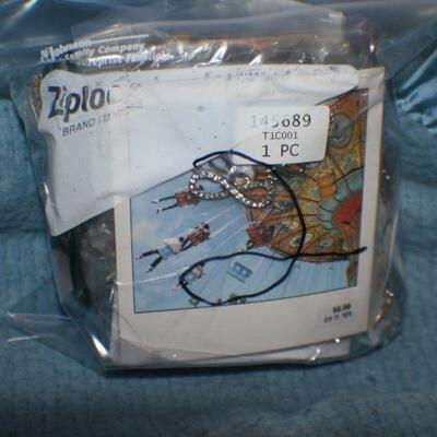 Quart Size Ziplock Bag of Jewelry -2