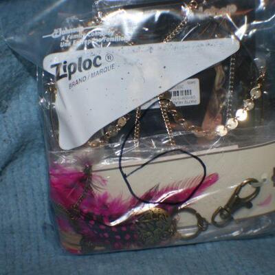 Quart Size Ziplock Bag of Jewelry -6