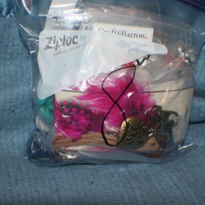 Quart Size Ziplock Bag of Jewelry -8