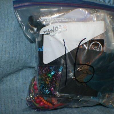 Quart Size Ziplock Bag of Jewelry -16