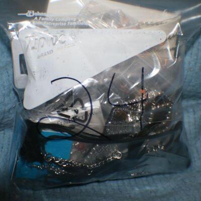 Quart Size Ziplock Bag of Jewelry -24