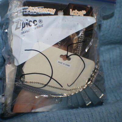 Quart Size Ziplock Bag of Jewelry -25