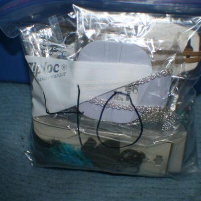 Quart Size Ziplock Bag of Jewelry -40