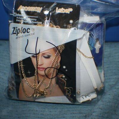 Quart Size Ziplock Bag of Jewelry -42