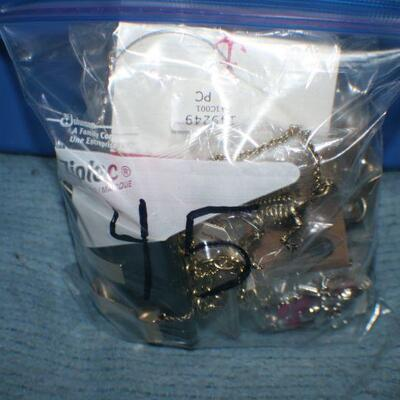 Quart Size Ziplock Bag of Jewelry -45