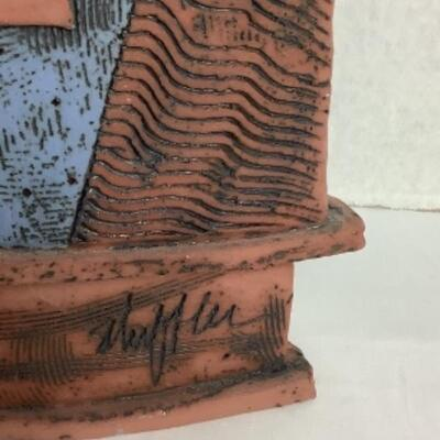 K - 103 Abstract Pottery Signed by Sheffler
