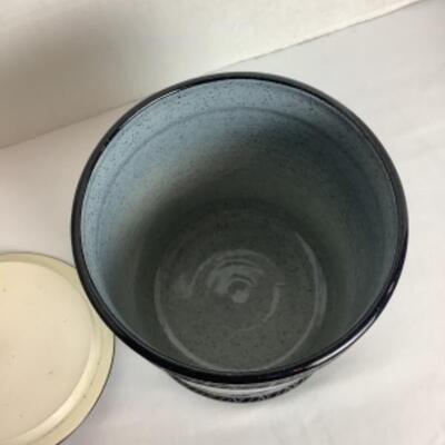 K - 106 Signed Artisan Glazed Pottery