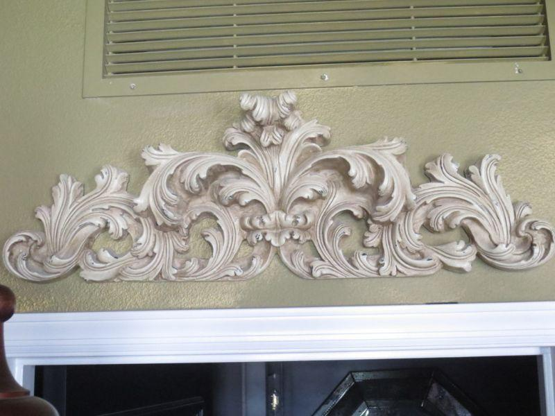 """This would look great in lots of various places but here we are showing it above a doorway. It is 34"""" across x 12"""" tall."""