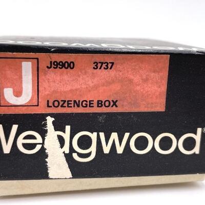 WEDGWOOD PINK JASPERWARE MINI LIDDED LOZENGE BOX