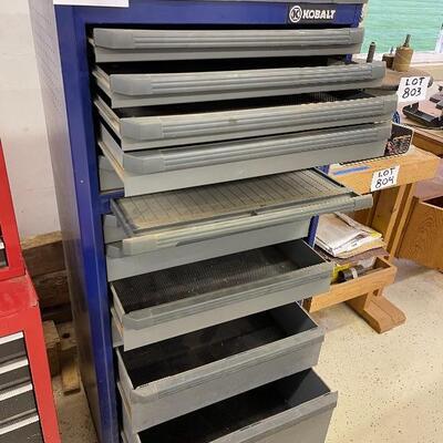 802-Kolbalt Blue Steel Body Tool Cabinet