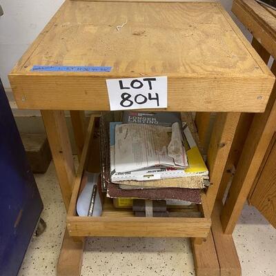 804-Wooden Workbench