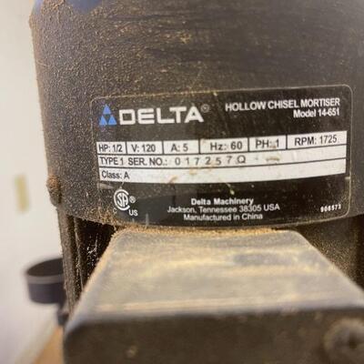 805-Delta Vertical Chisel Mortiser
