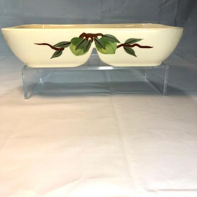 Franciscan Pottery Divided Vegetable Dish