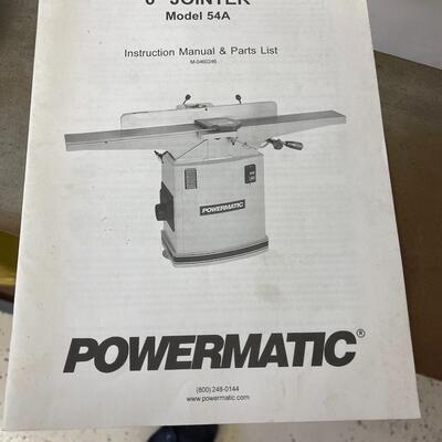 815-PowerMatic Model: 54A Planer