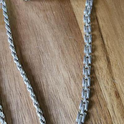 J5: Thick Sterling Rope Chain, Cuff and more