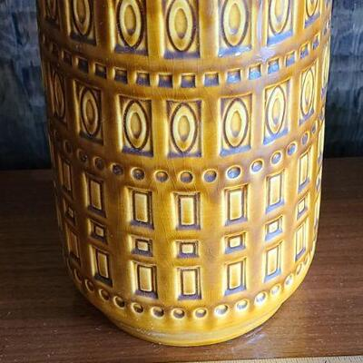 Lot 176: 1960s MCM Scheurich Vase and More