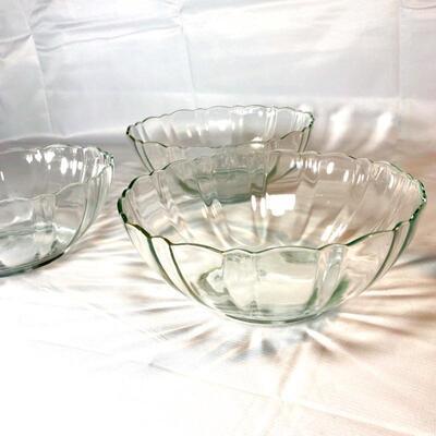 Arcoroc MCM Glass Serving Bowls