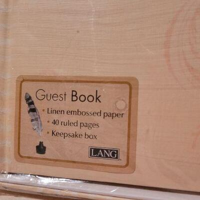 Lot 6: New Activity Book + New LANG Guest Book