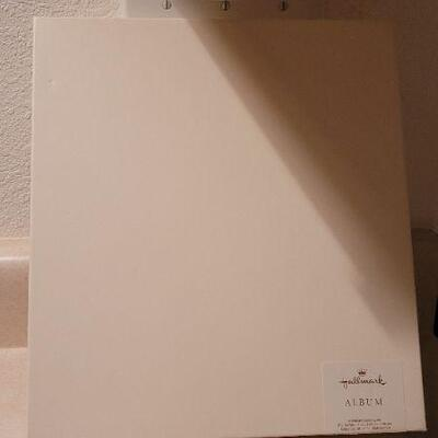 Lot 7: New HALLMARK 25TH Anniversary MEMORY BOOK + New Fridge Tape x 2