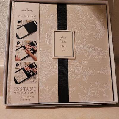 Lot 10: New HALLMARK Wedding Celebration Album