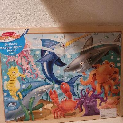 Lot 38: New Children's Activity Puzzle + Book