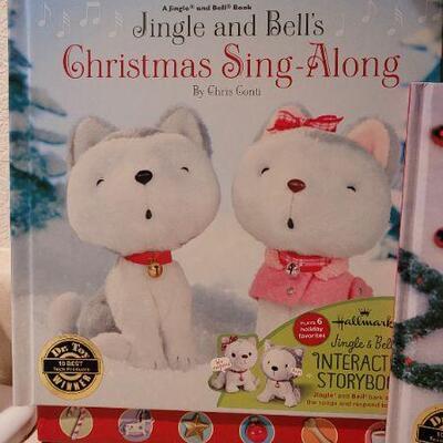 Lot 43: Jingle Bells New Hallmark Books x 2