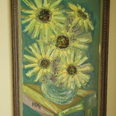 LOT 440 Flower Painting
