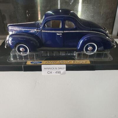 LOT 498 Blue Ford Car