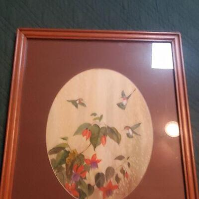 LOT 460 Painting of Birds
