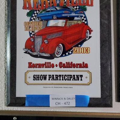 LOT 472 Road Show Award