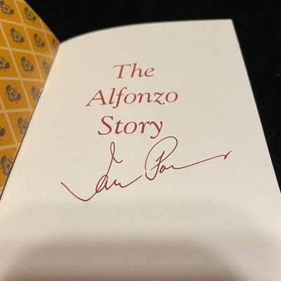 Alphonso with author signed story book