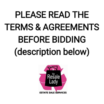 PLEASE CLICK ON THE DESCRIPTION FOR TERMS & CONDITIONS
