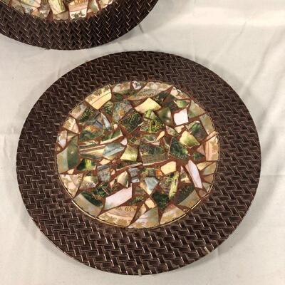 Lot 4 - (2) Repurposed Thomas Kincade Plates