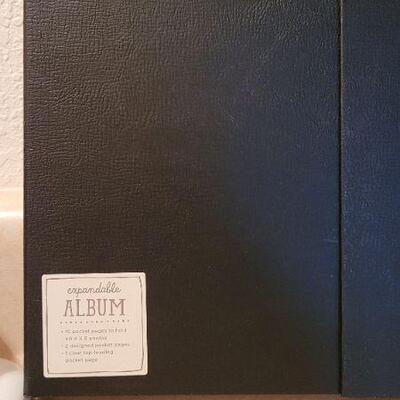 Lot 99: New Hallmark Expandable Album x 2
