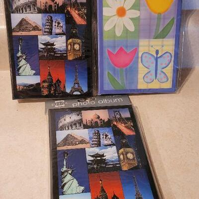 Lot 103: New Personal Photo Albums x 3