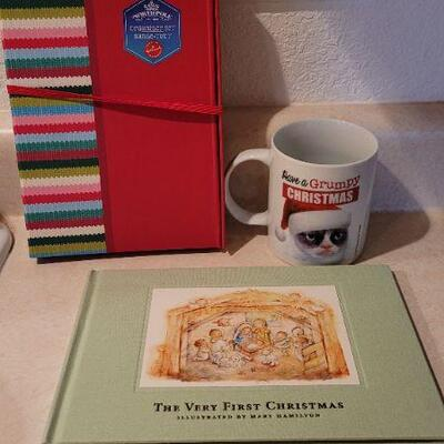 Lot 107: Assorted NEW Hallmark Christmas Collectibles