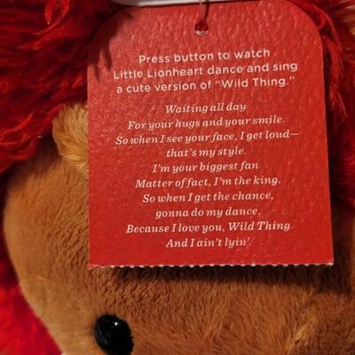 Lot 110: New RETIRED Little Lionheart Hallmark Figure- WORKS