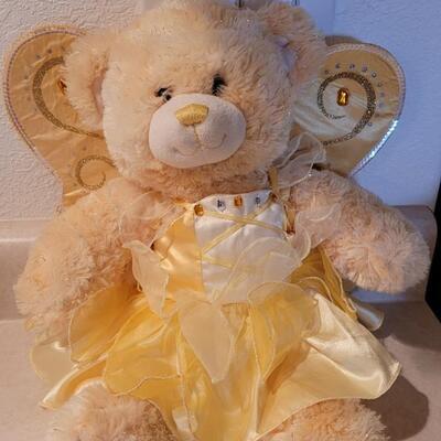 Lot 112: Pre Owned BUILD A BEAR Plush Angel Bear