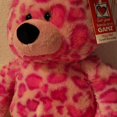 Lot 115: New GANZ Large Spotted Plush Bear