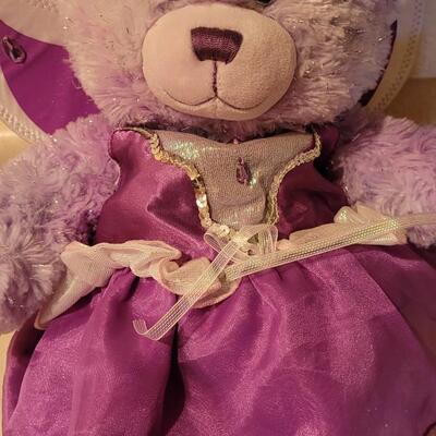 Lot 129: Pre Owned BUILD A BEAR Plush Bear