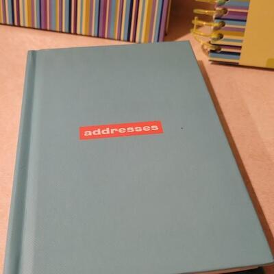 Lot 137: Assorted NEW Hallmark Address + Notepad Books