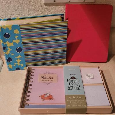 Lot 140: New Hallmark Assorted - Photo Album, Journal Notepad + Gift Set