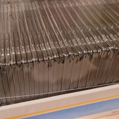 Lot 144: New Black CD Jewel Cases (100 Total)