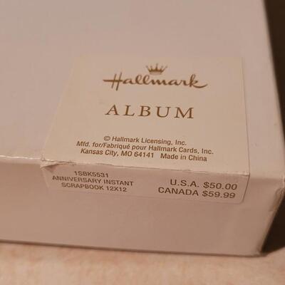 Lot 145: New 12 x 12 Instant Anniversary Scrapbook HALLMARK