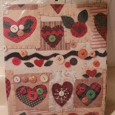 Lot 147: Assorted NEW Sealed Vintage Gift Wrap Paper